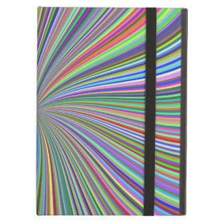Cada color en el remolino del espiral de la caja