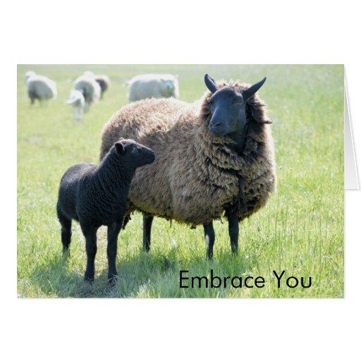 Cada familia tiene una oveja negra felicitación