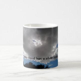 Taza De Café Cada nube tiene una taza de café del lado positivo