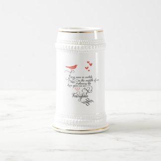 Cada una vez adentro un rato en una vida ordinaria jarra de cerveza