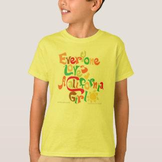 Cada uno ama a los chicas de California Camiseta