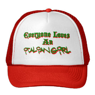 Cada uno ama a un chica italiano gorro de camionero