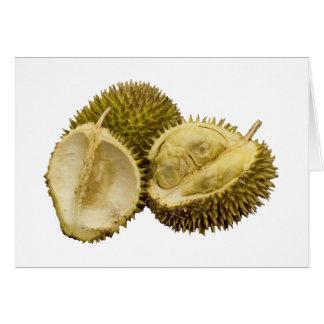 ¡Cada uno ama el durian! Tarjeta De Felicitación