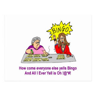Cada uno grita bingo postal