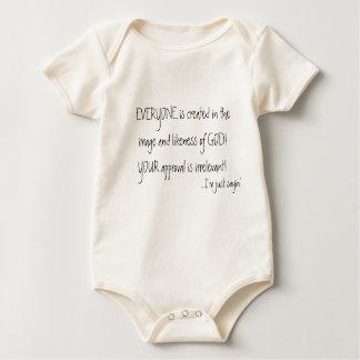 CADA UNO se crea en la imagen y la semejanza… Body De Bebé