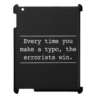 Cada vez que usted hace un error tipográfico