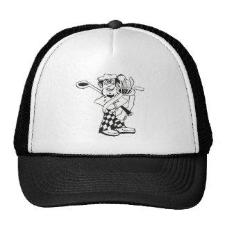 Caddie de la escuela vieja gorras