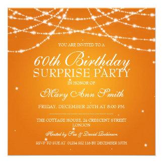 Cadena de fiesta de cumpleaños de la sorpresa de e