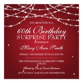 Cadena de fiesta de cumpleaños de la sorpresa de comunicados personales