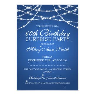 Cadena de fiesta de cumpleaños de la sorpresa de comunicados personalizados