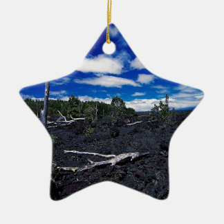 Cadena del cielo de cráteres adorno de navidad