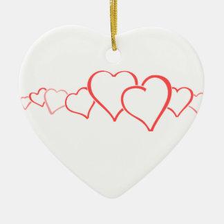 Cadena del corazón ornatos