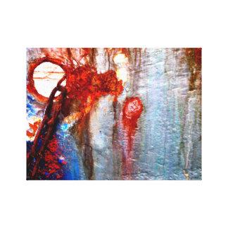 Cadena oxidada impresiones de lienzo