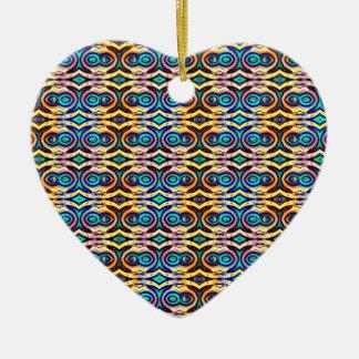 Cadenas abstractas multicoloras. Modelo geométrico Adorno De Reyes