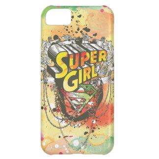 Cadenas de Supergirl Funda Para iPhone 5C