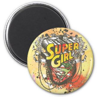 Cadenas de Supergirl Imán Redondo 5 Cm