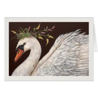 Cadencia la tarjeta del cisne
