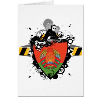 Cadera Bielorrusia Tarjeta De Felicitación