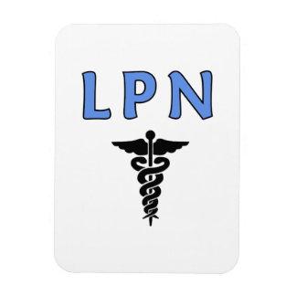 Caduceo de LPN Imán