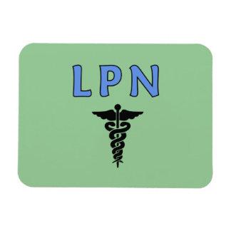 Caduceo de LPN Imán Flexible
