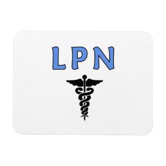 Caduceo de LPN Imanes Rectangulares