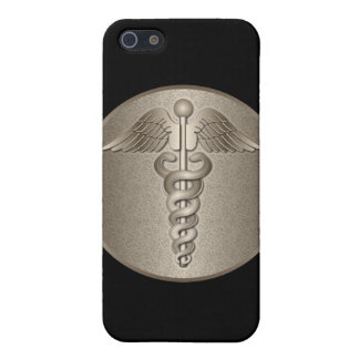Caduceo del MD iPhone 5 Protector
