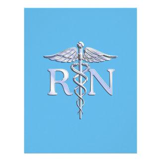 Caduceo del RN de la enfermera registradoa en Folleto 21,6 X 28 Cm