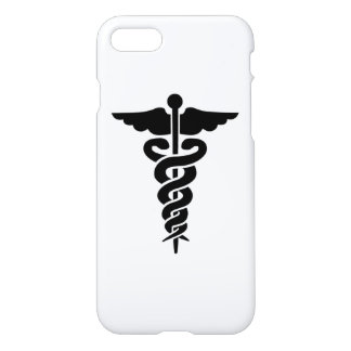 Caduceo médico del símbolo funda para iPhone 7