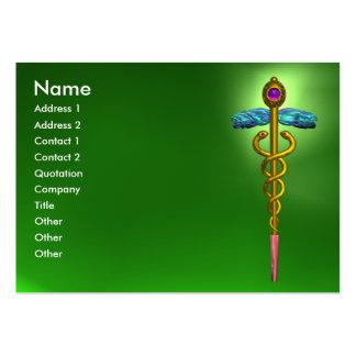 CADUCEO, rosa amethyst del oro vibrante del VERDE