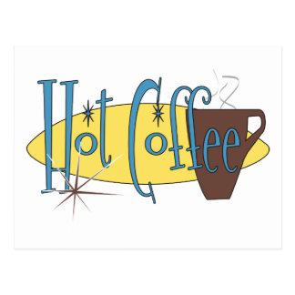 Café caliente postal