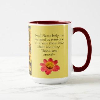 café combinado de los rezos de la taza del chisme