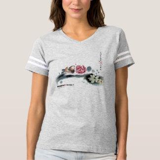 Café con la camiseta de fútbol de las mujeres del