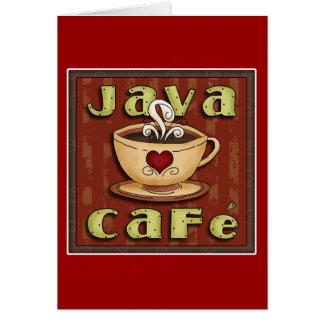 café de Java Felicitación
