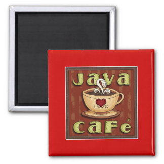 café de Java Imanes Para Frigoríficos