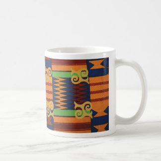 Café de Kente o taza de té