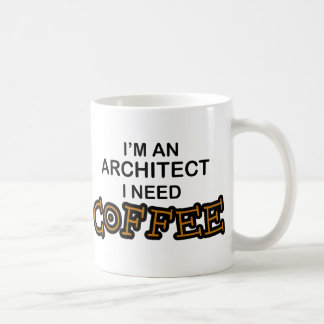 Café de la necesidad - arquitecto taza de café