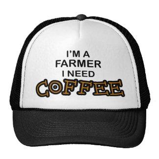 Café de la necesidad - granjero gorra