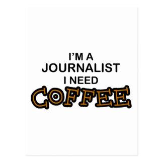 Café de la necesidad - periodista postal