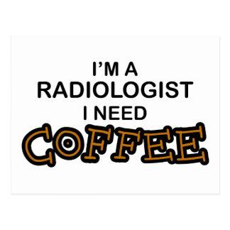 Café de la necesidad - radiólogo postal