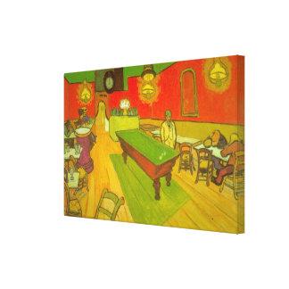 Café de la noche de Van Gogh, bella arte del