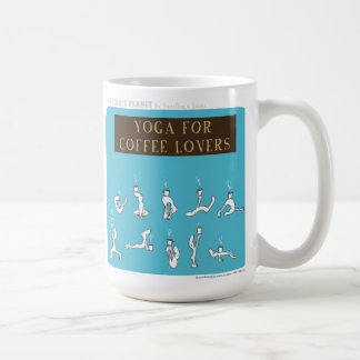 "Café de la yoga del planeta de HP5089 ""Harold"" Taza"