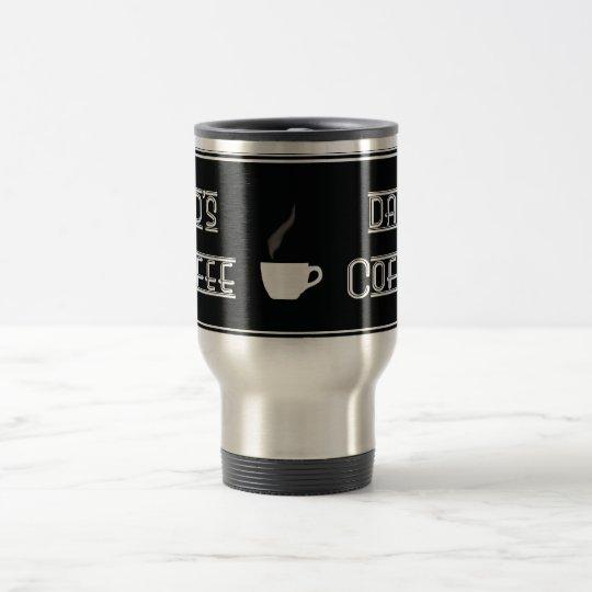 café de los papás taza de viaje