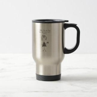 Café del acero inoxidable taza de viaje de acero inoxidable
