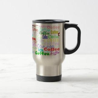 ¡Café del café del café! Taza Térmica