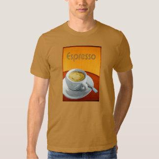 Café del café express del vintage camiseta