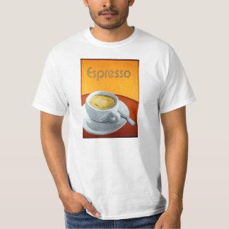 Café del café express del vintage camisetas