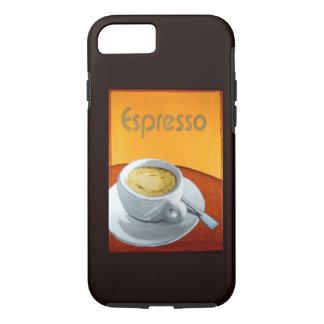 Café del café express del vintage funda iPhone 7