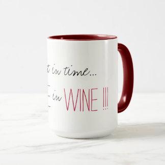 """¡CAFÉ DEL CAFÉ MUG_ ELEGANTE """" EN VINO!!! """" TAZA"""