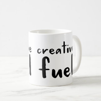 Café del combustible o taza creativo del té