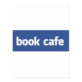 café del libro tarjetas postales